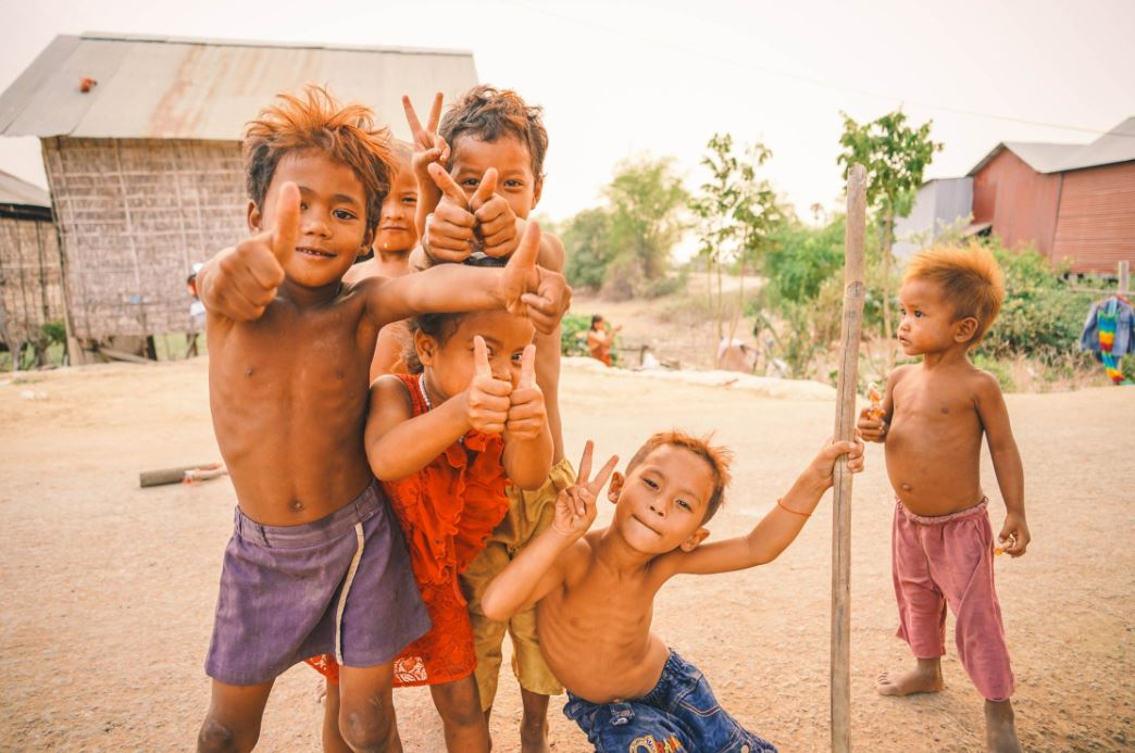 happy children asia